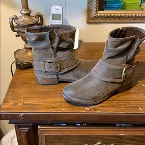 Madeline brown ankle boots